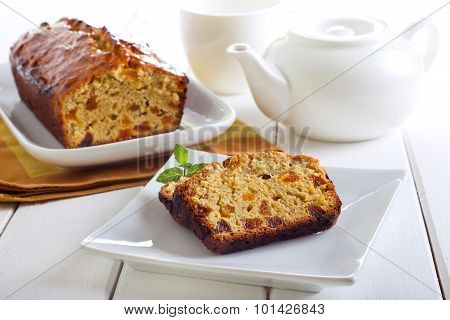 Marmalade And Apricot Tea Bread
