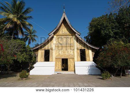 Wat Xieng Thong, Buddhist Temple In Luang Prabang World Heritage, Laos