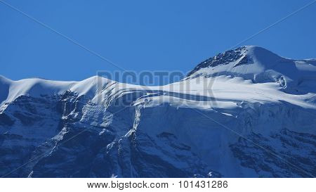 Glacier On The Jungfraujoch