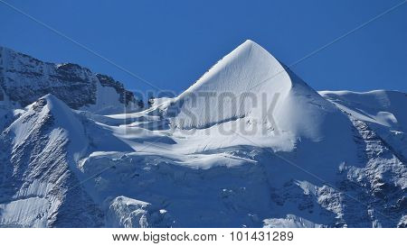 Beautiful Shaped Mt Silberhorn