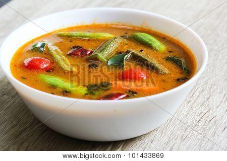 Sambar famous south Indian curry