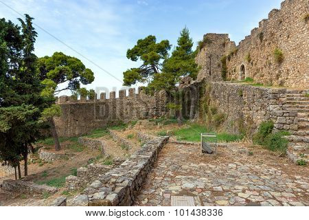 Nafpaktos castle, Greece