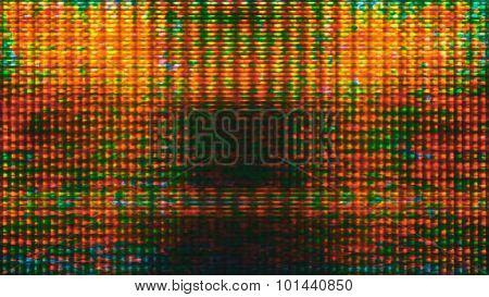 Futuristic Screen Display Pixels 10463