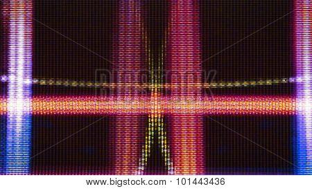 Futuristic Screen Display Pixels 10469