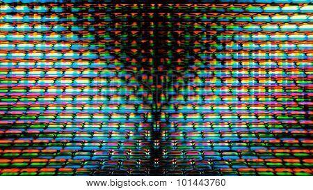 Futuristic Screen Display Pixels 10471