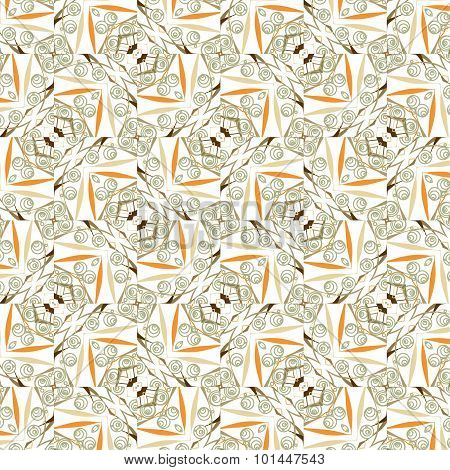 Primitive  Retro Seamless Pattern