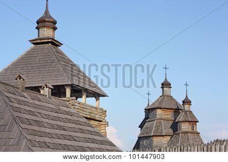military watchtower time of Zaporizhzhya Cossacks.