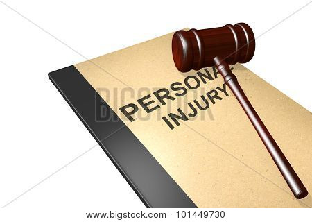 Personal Injury Concept