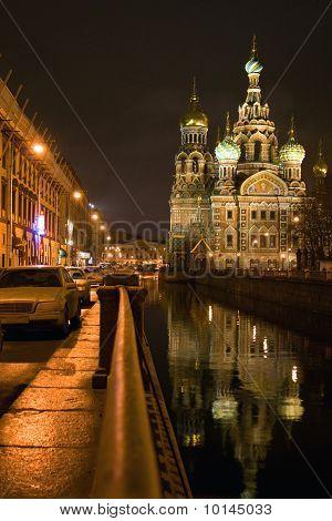 Church of savior on spilled blood St Petersburg