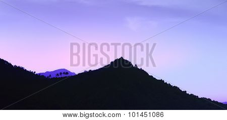 Night Over Mountain