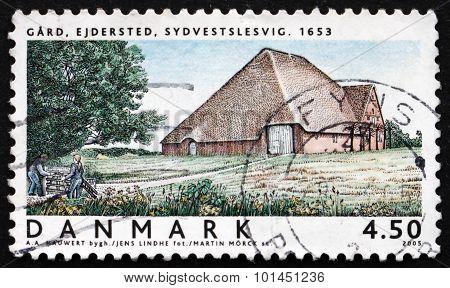 Postage Stamp Denmark 2005 Ejdersted Farm, Southwest Schleswig