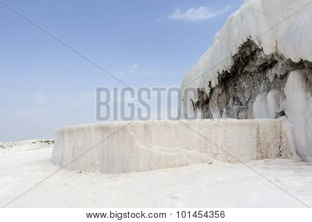 Pamukkale, Turkey. Travertine.