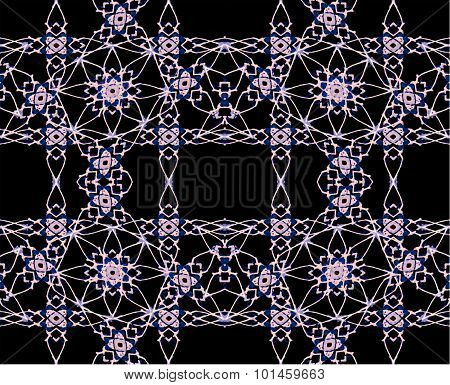 Modern Arabesque Decorative Seamless Pattern