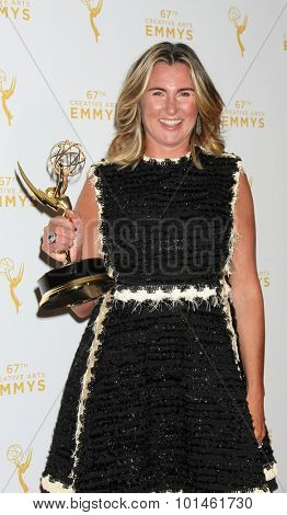 vLOS ANGELES - SEP 12:  Nancy Dubuc at the Primetime Creative Emmy Awards Press Room at the Microsoft Theater on September 12, 2015 in Los Angeles, CA