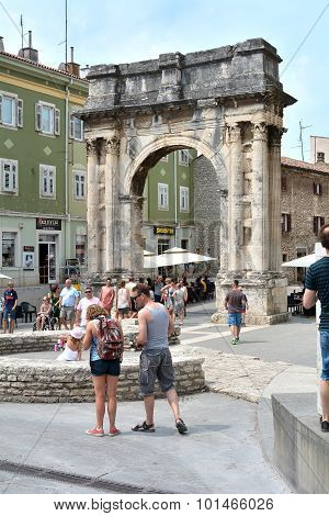 old town of Pula