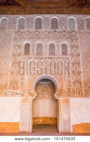 The Ben Youssef Madrasa, Marrakesh, Morocco