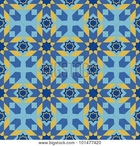 Arabic seamless ornament
