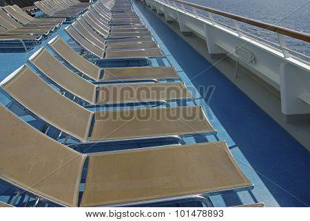 Cruisehip Deck Chairs