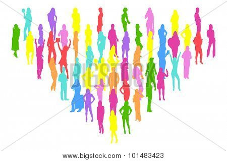 Many People Isolated
