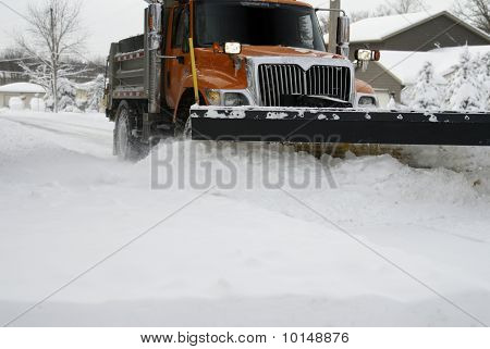 Snow Plow Up Close