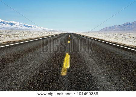 Frozen Desert Highway