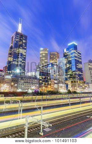 Cityscape At Twilight
