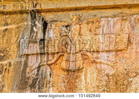 Faravahar Persepolis symbol