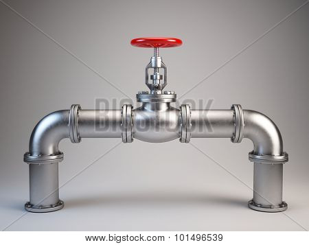 Industrial Pipe Valve