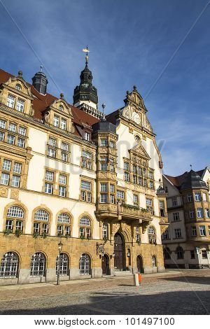 Town Hall Of Werdau, Germany