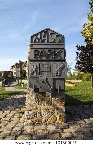 Massi Park In Werdau, Germany, 2015
