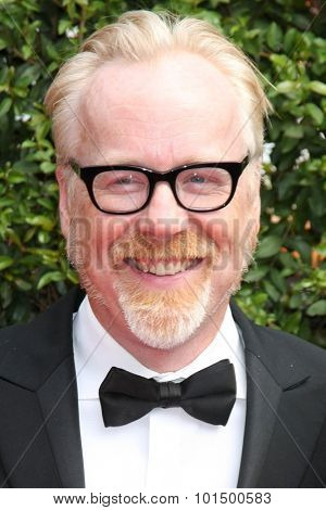 LOS ANGELES - SEP 12:  Adam Savage at the Primetime Creative Emmy Awards Arrivals at the Microsoft Theater on September 12, 2015 in Los Angeles, CA