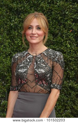 LOS ANGELES - SEP 12:  Sasha Alexander at the Primetime Creative Emmy Awards Arrivals at the Microsoft Theater on September 12, 2015 in Los Angeles, CA