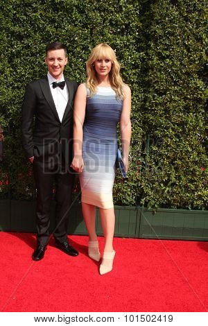 vLOS ANGELES - SEP 12:  Rhys Ernst, Zackary Drucker at the Primetime Creative Emmy Awards Arrivals at the Microsoft Theater on September 12, 2015 in Los Angeles, CA