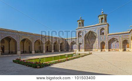 Nasir al-Mulk Mosque courtyard