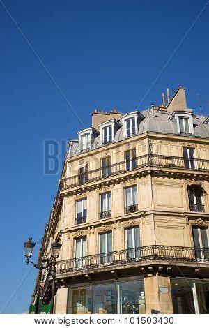ancient stone building in Paris
