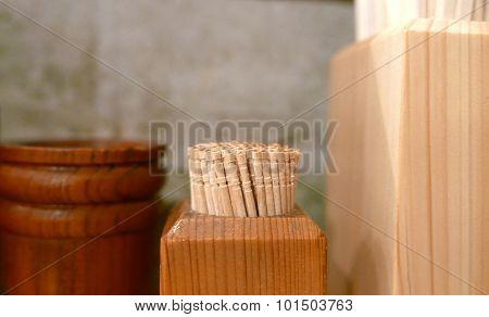 toothpicks and chopsticks