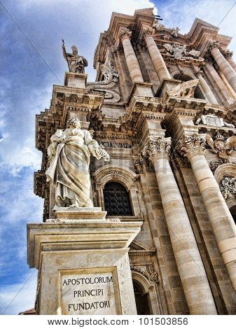 The Duomo in Ortigia, Sicily