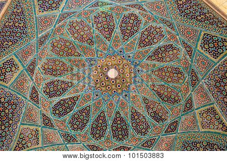Tomb of Hafez ceiling