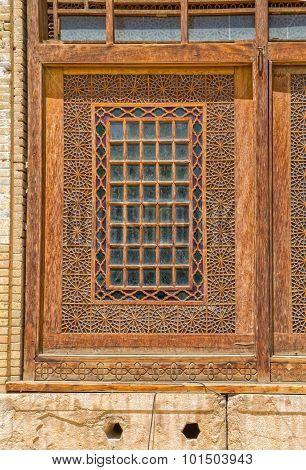 Citadel wooden window