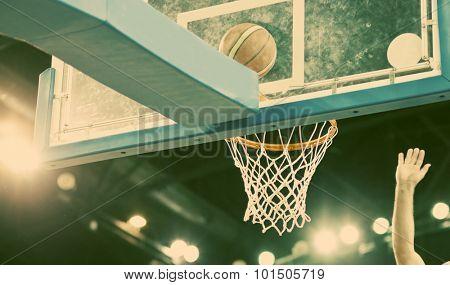Ball in hoop