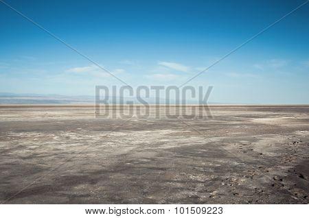 Dry Saline Lake