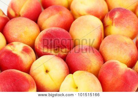 Fresh Apricots Background