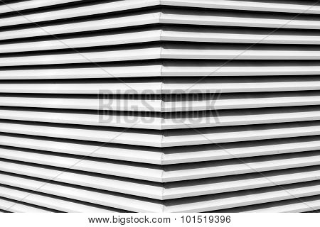 Black And White Architectural Abstract