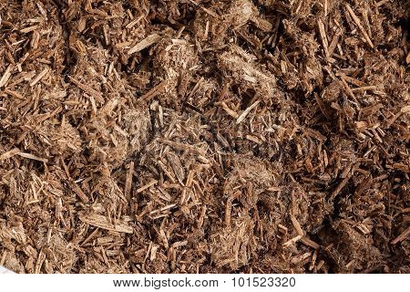 Resinous granules or powder of Agarwood.