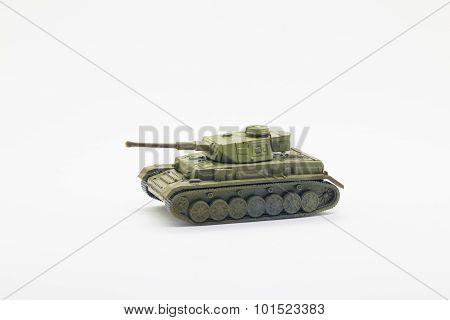 World war II tank model toy