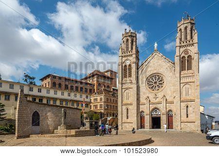 Andohalo Cathedral - Antananarivo