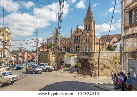 Ambatonakanga Church - Antananarivo