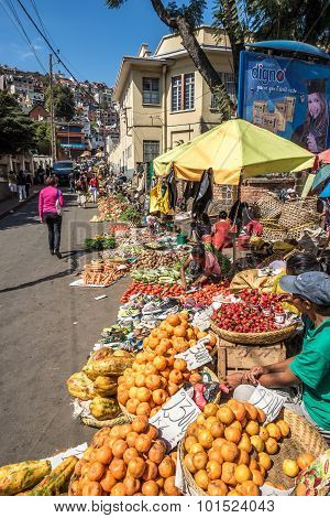 In The Streets Of Antananarivo