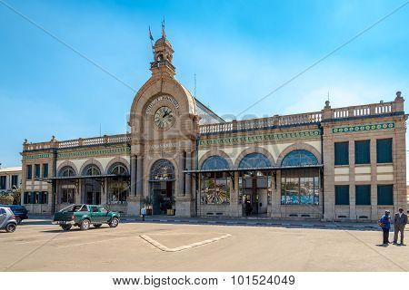 The Soarano Train Station In Antananarivo