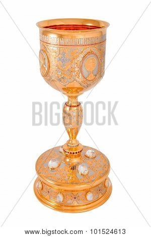 Golden Orthodox Altar Chalice